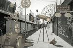Carlos Diaz: Coney Island-Invented Landscape #20B-NY-2002