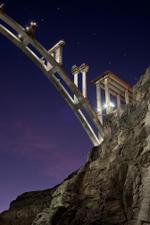 Jamey Stillings: Nevada Pier Construction, November 24, 2009