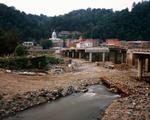 Jeff Rich: Bridge Reconstruction, The French Broad River, Marshall, North Carolina, 2006