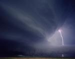 Kevin Erskine: Mothership with Lightning, Valentine, Nebraska, 2009