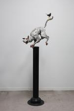 Kindred Spirits: David L. Deming – Dog with Bird, 1997