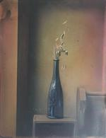 Light and Metal: David E Adams and Claire A. Warden, Still Life with Blue Vase, 2018