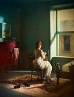 Richard Tuschman: Green Bedroom (Morning), 2013