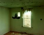 Steve Fitch: Living room in a house near Roy, eastern New Mexico, January 14, 1999