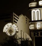 Steve Fitch: Motel, Highway 66, Elk City, Oklahoma, 1974?