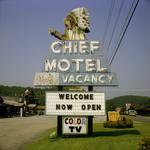Steve Fitch: Cherokee, North Carolina; August, 1982