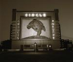 Steve Fitch: Circle Drive-In Theater, Highway 81, Waco, Texas; 1972