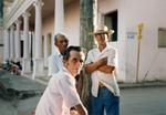 Tria Giovan: Three Men-Remedios, Cuba, 1993